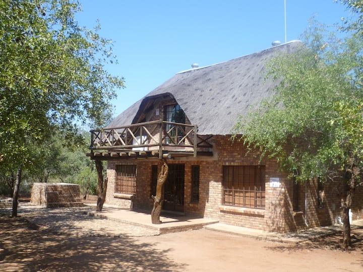 Leadwood Lodge Bush house