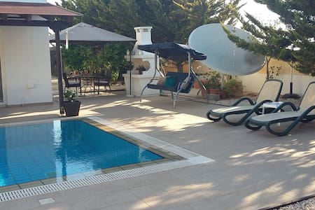 Private pool. garden, relaxing holidays