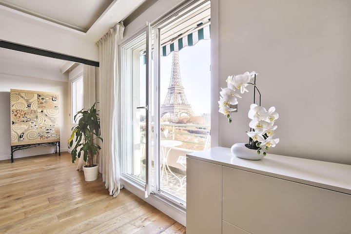 "View ""Eiffel Tower"" Amazing apartment (1618)"