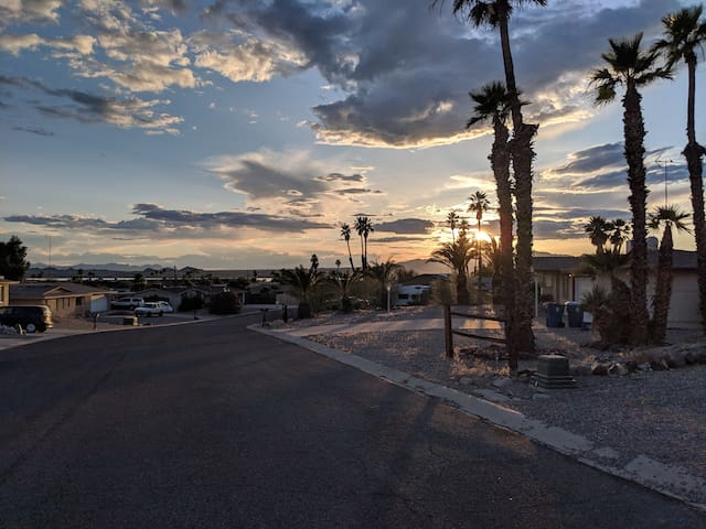 Quiet street & friendly neighborhood with an unbeatable location. All underground electric and cable. No wires here for these homes! Enjoy unobstructed views.