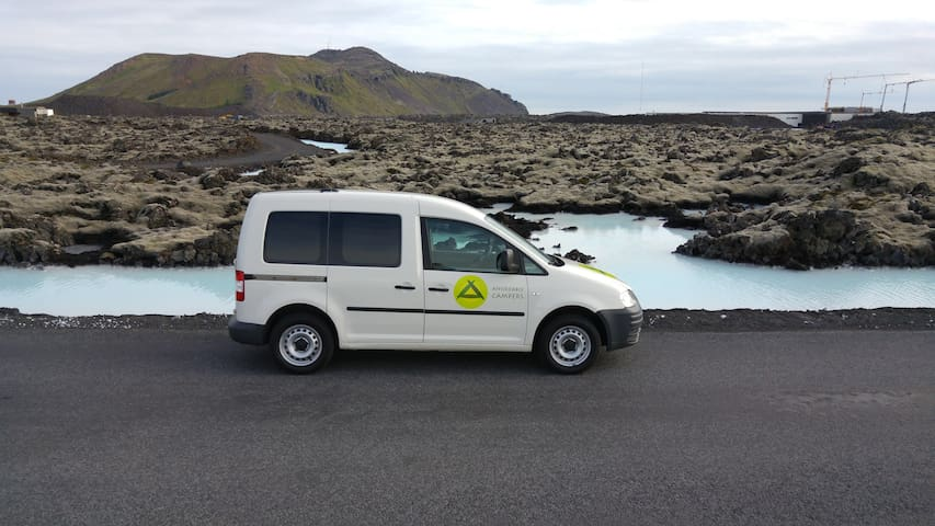 Probably the best stationary camper in Iceland YX