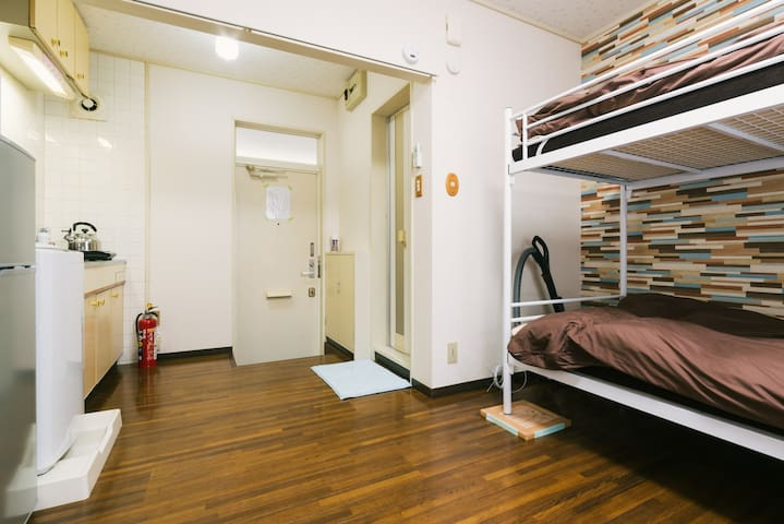It arrives in a 3-minute walk on foot to the stati - Fukuoka-shi - Apartment