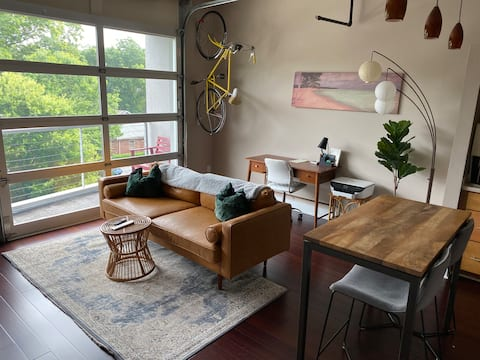Tree Top Loft in Plaza Midwood