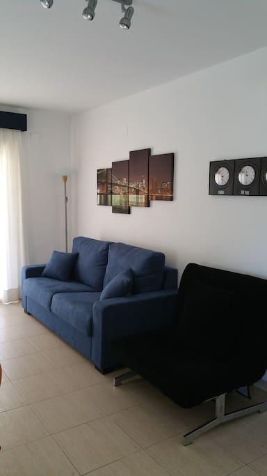 2 Sofa-Cama