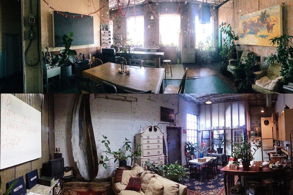 Living room 1 & 2