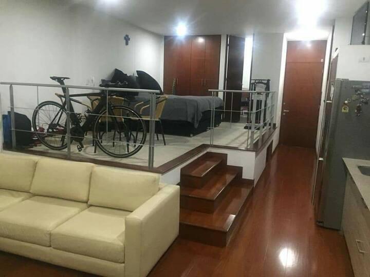 Fabulous loft in trendy neighbourhood north Bogotá