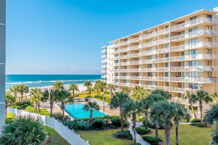BEACHFRONT Luxe 1BR w/ BUNKS - 2 Bath $99NT - FUN! - Orange Beach