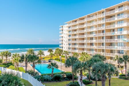 BEACHFRONT Luxe 1BR w/ BUNKS - 2 Bath $99NT - FUN! - Orange Beach - Kondominium