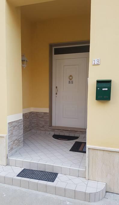 Entrata/Facciata Esterna appartamento