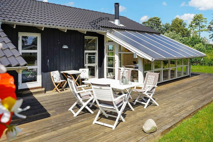 Luxurious Holiday Home in Jutland with Garden Seating