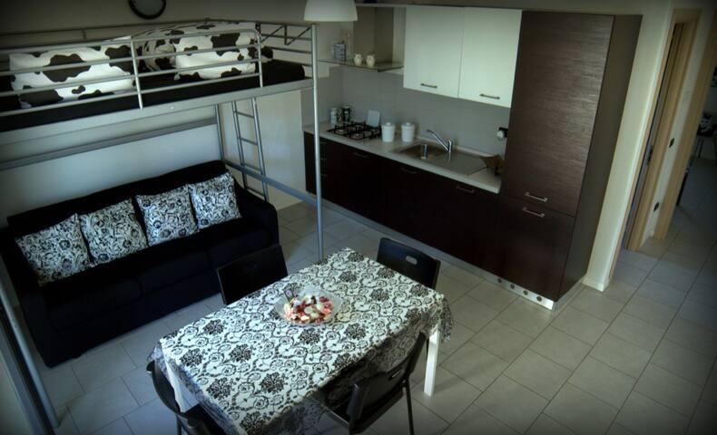 Appartamento NeroBianco(Valtellina) - Dubino - Apartament
