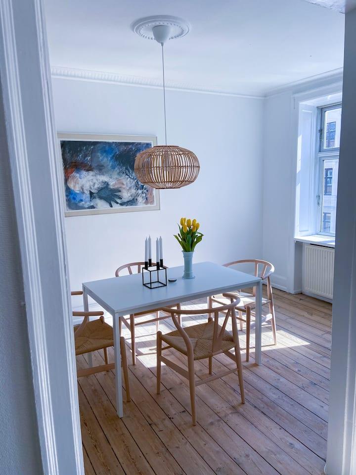 Scandinavian style apartment near city centre