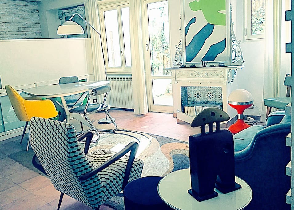 Zona Living : atmosfera originale vintage e design