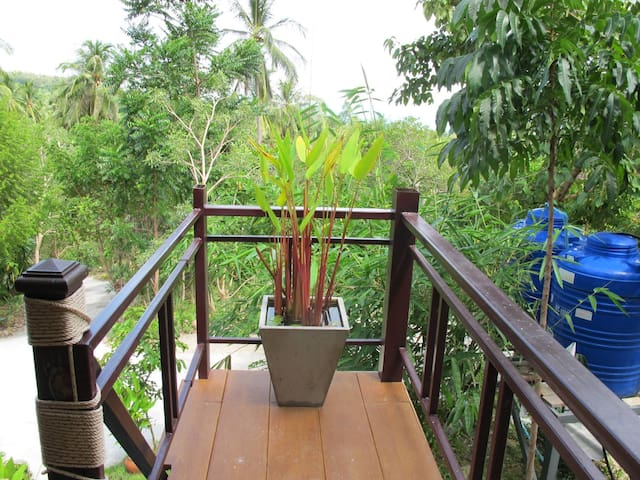 Comfy Homestay with Campsite in Secluded Samui - Ko Samui - Alojamento na natureza