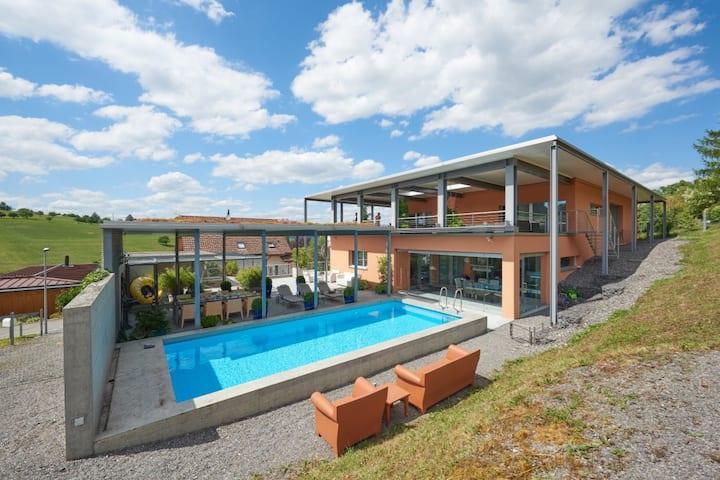 Luxurious Designer Villa Near Zurich and Basel