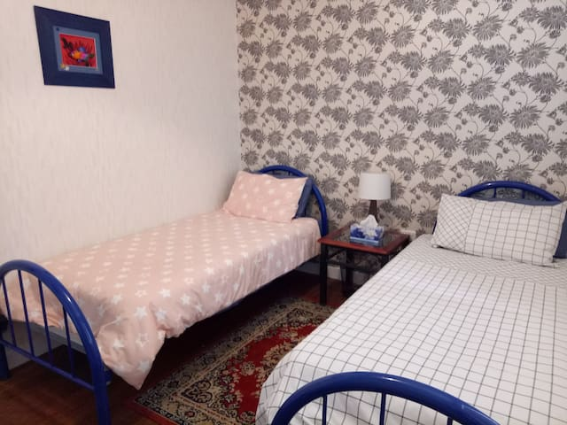Lovely twin room - Ipswich