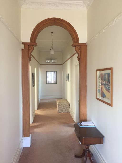 Hallway from the front entrance