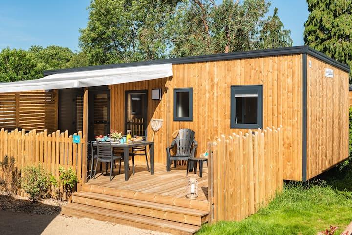 Hébergement en bois 3 chambres /6 pers Port Manech