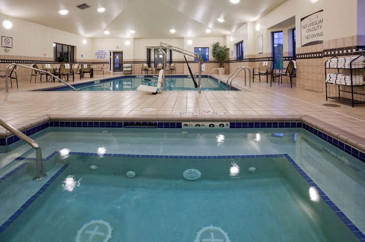 Free Breakfast. Pool & Hot Tub. Free Shuttle to Mall of America. Your Next Vacation!