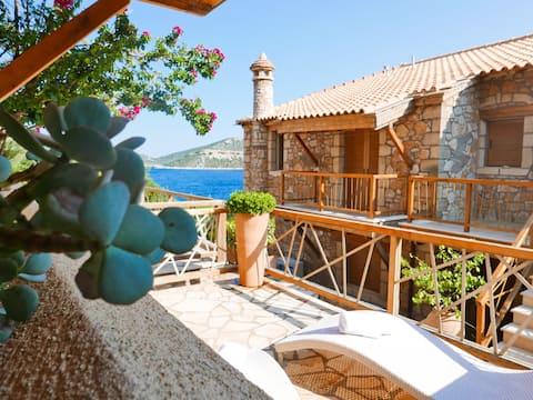 Villa Deep Blue - Con vistas al azul profundo del...