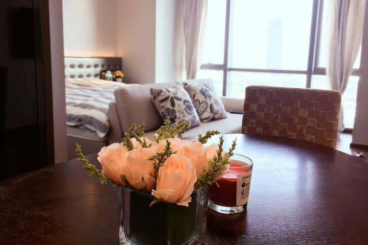 苏州金鸡湖畔摩天轮行政公寓一房一厅 - 苏州 - Apartment