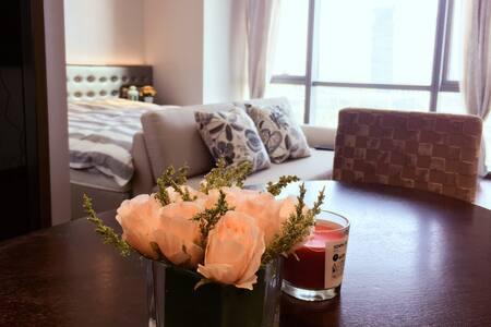 苏州金鸡湖畔摩天轮行政公寓一房一厅 - 苏州 - Apartamento