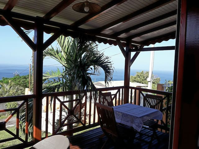 Gîte Kajou** vue sur mer