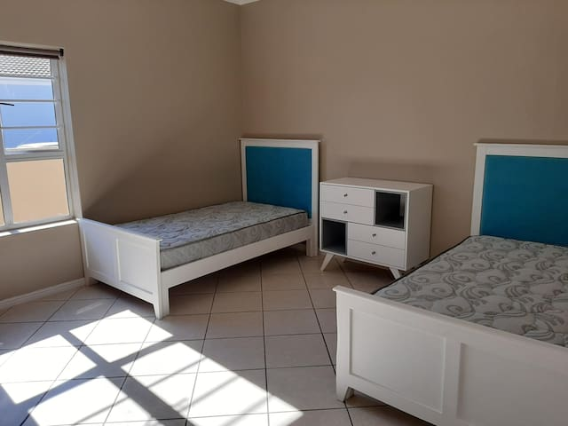look of bedrooms, bedding will be provided