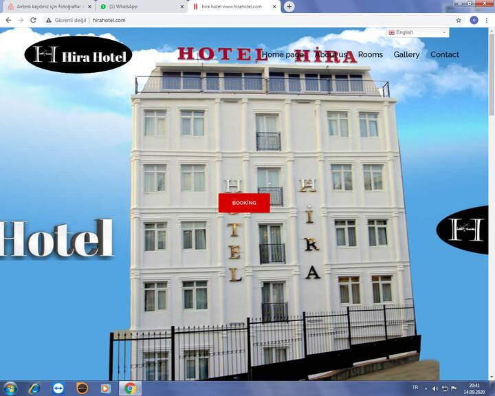 HİRA  Hotel Room  Next to Grand Bazar 1pax or 2pax