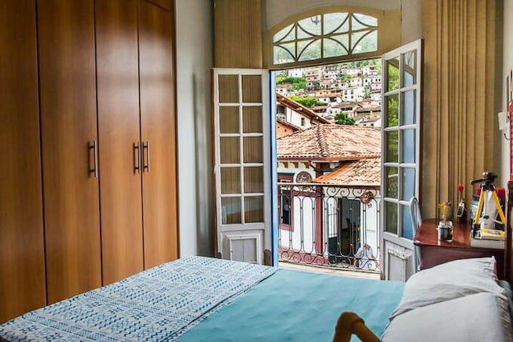 Casa da Varanda | Suite Casal Private Room - Ouro Preto - House