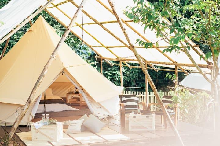 CAMPINESS Camping & Farmsook - GroundCamp Hippie