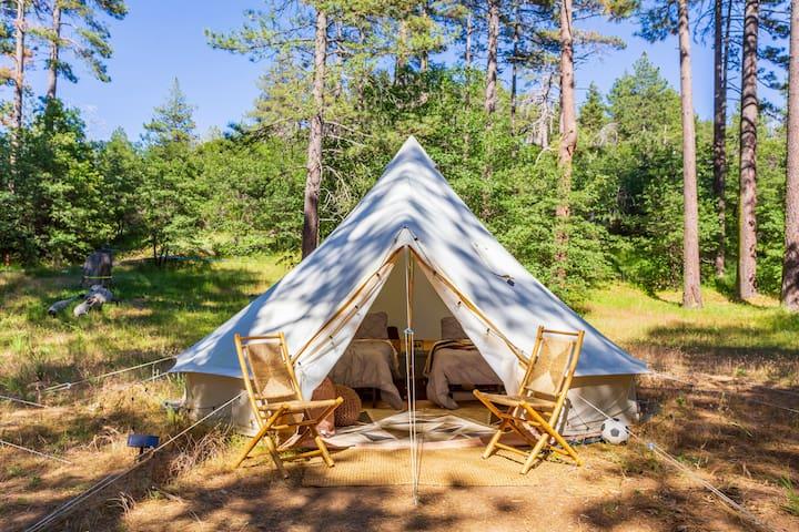 Bell Tent | Mount Laguna & Lake Cuyamaca Glamping