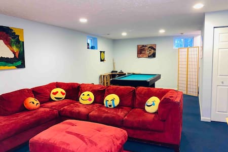 Spacious Basement Studio