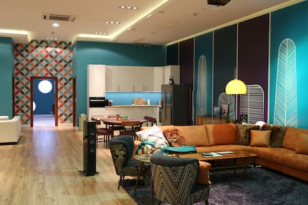 Mid Century Apartment Close to Warsaw Expo :-) - Nadarzyn - 公寓