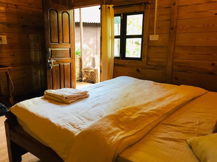 Spacious cottage apartment with Garden in Palolem