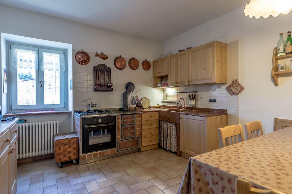 La cucina, il cuore della casa