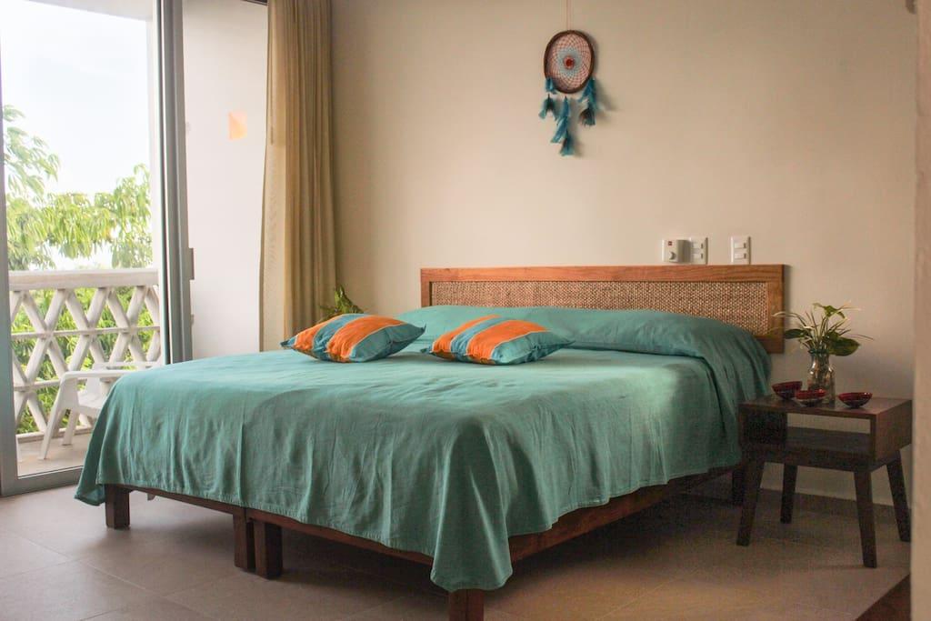 Suite con cama extra grande