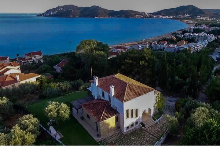 Villa Berlinetta in Hrakleitsa, Kavala