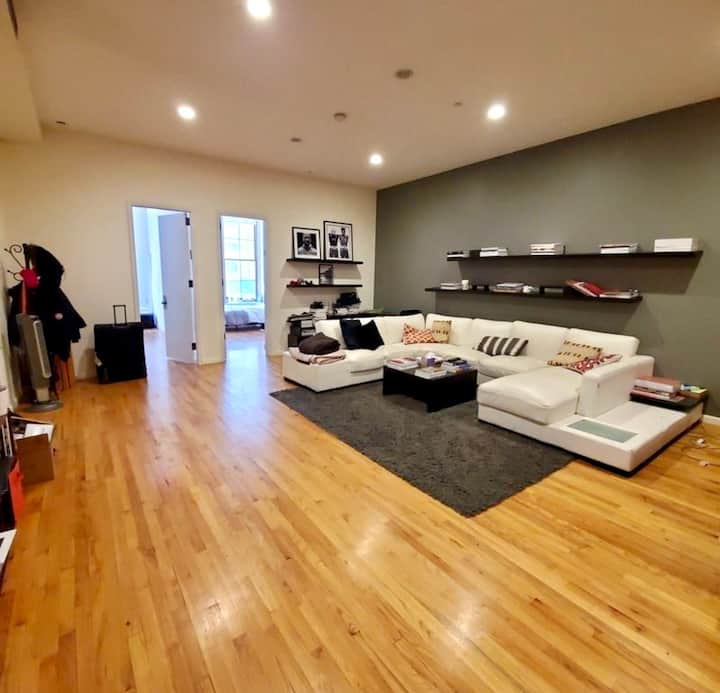 Rent bedroom with private living and work space