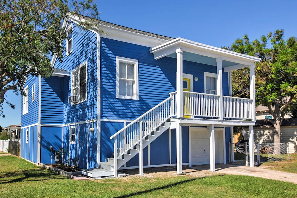 Beach Houses For Vacation Rent In Galveston
