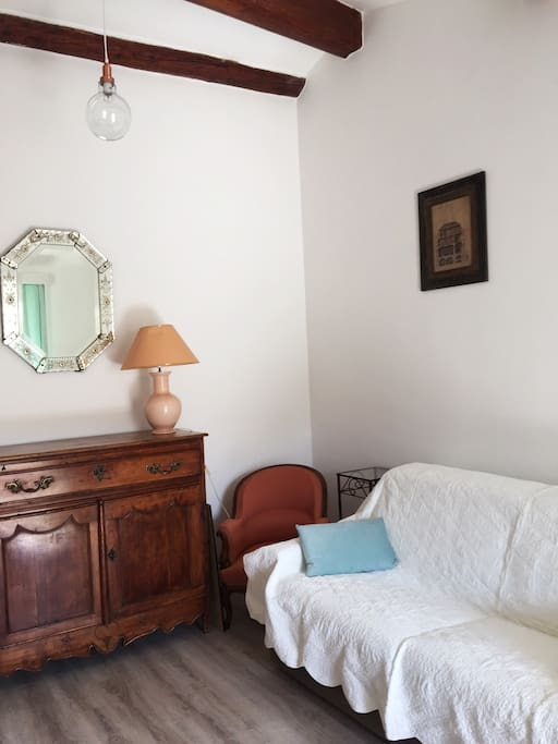 Canapé lit couchage 140x200
