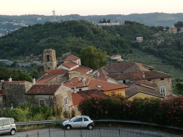Panoramica vista dalla terrazza