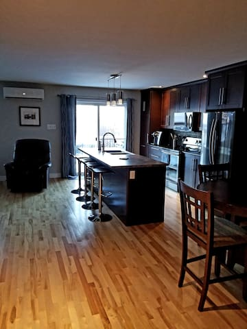 Open kitchen living space