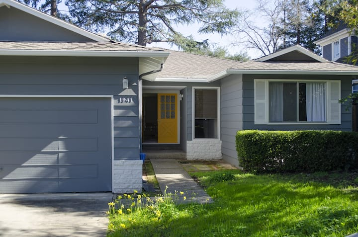 Quiet, Modern Family Home near Stanford Hospital