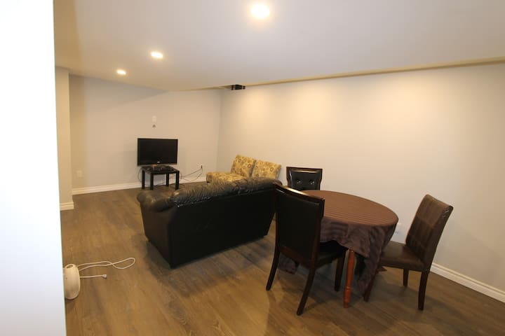 2 Bedrooms, Indpt. Basement Apartment @ Milton.