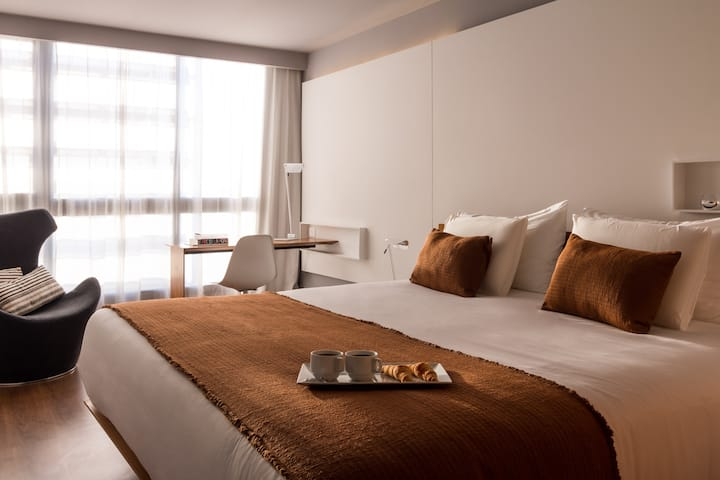 Habitación doble - Hotel Esplendor Punta Carretas