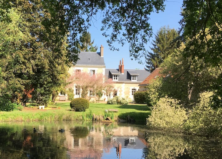 Gîte de charme, Tours, Loire valley, Golf