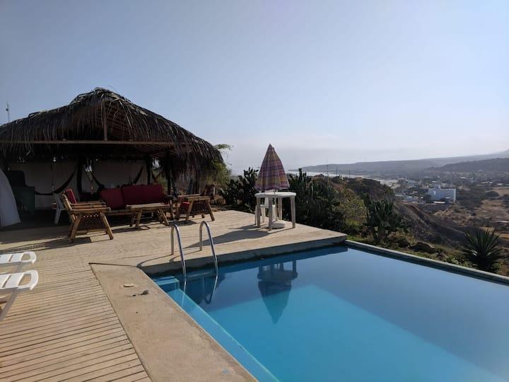 Casa de vacaciones en Punta Sal.