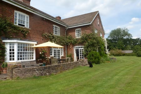 Lovely farmhouse in the Wye Valley - Hereford - Hus