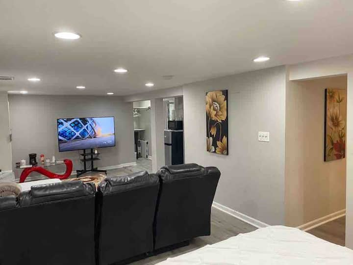 Luxury Private  Basement Apt in Great  Location
